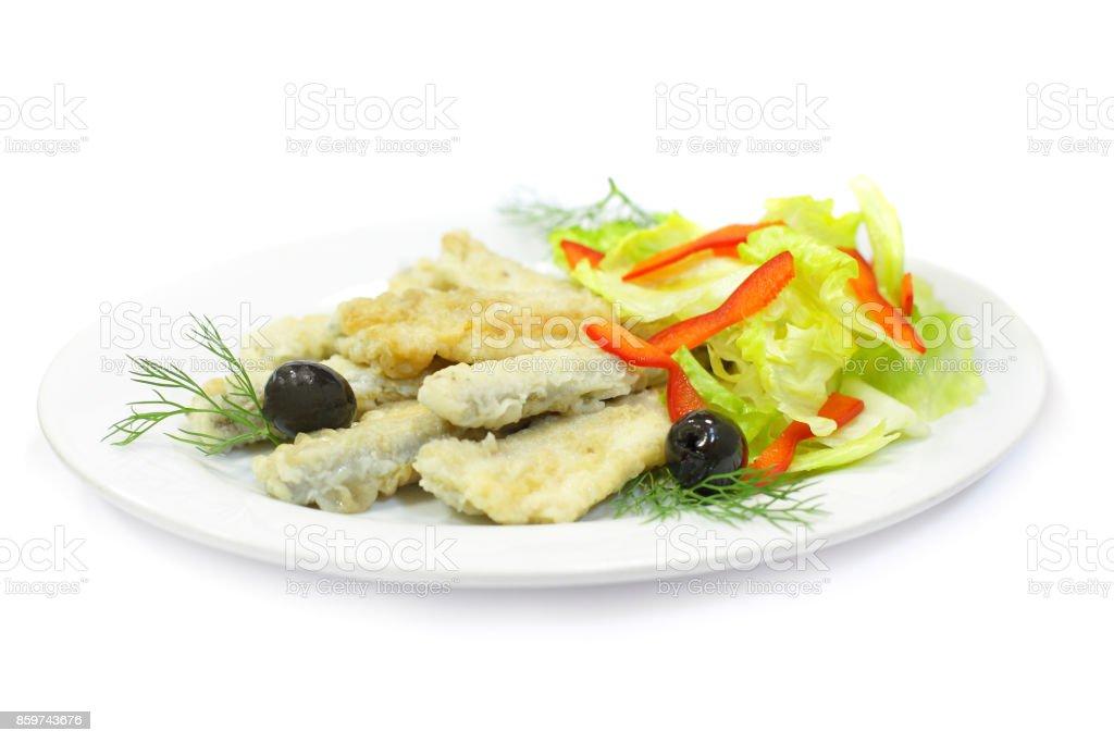 Smelt fish - gourmet food stock photo