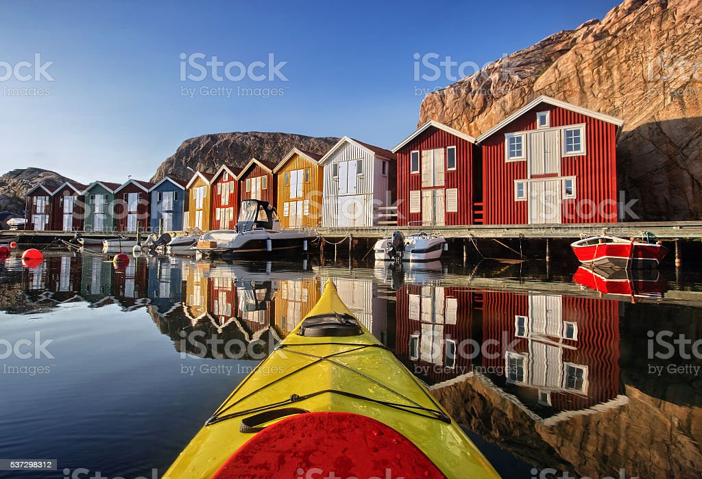 Smögen, Bohuslän, Sweden, Scandinavia stock photo