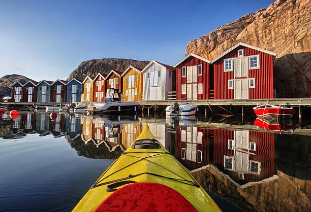 smögen, bohuslän, szwecja, skandynawia - szwecja zdjęcia i obrazy z banku zdjęć