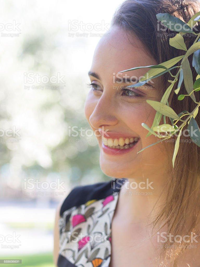 Smile Ahead stock photo