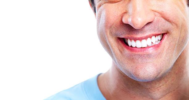 Lächeln und Zahn – Foto
