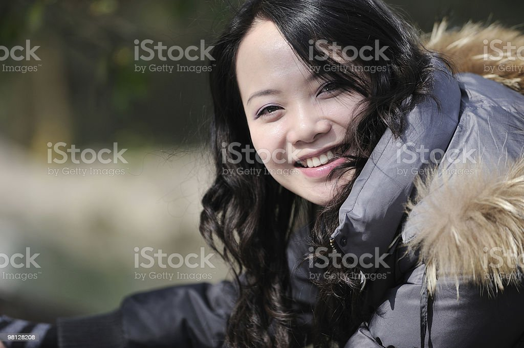 smile asian woman royalty-free stock photo