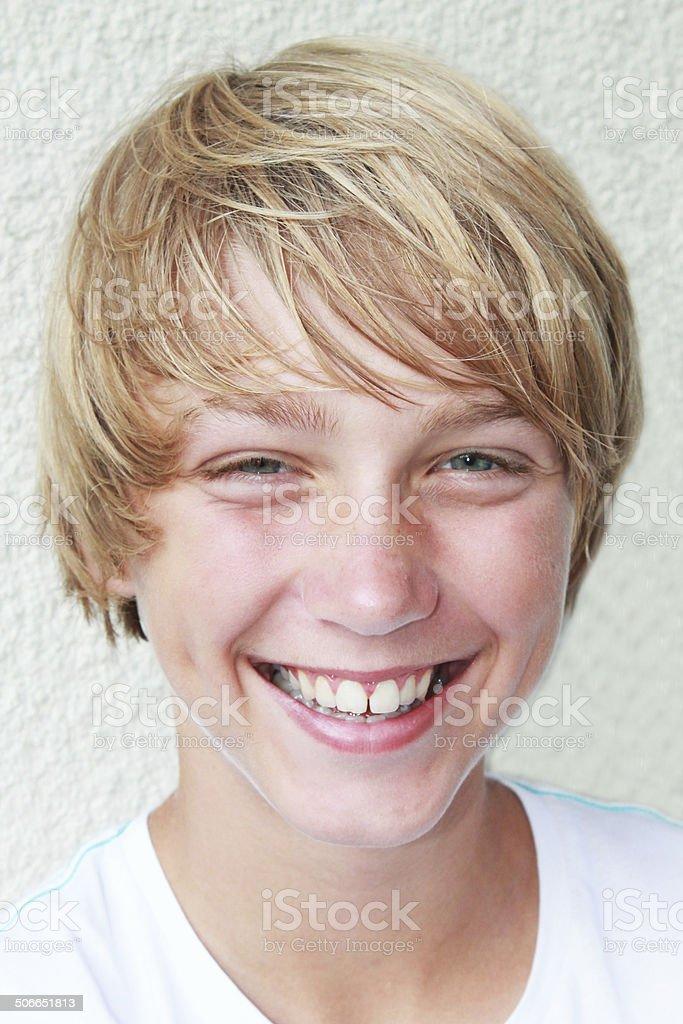 smile boy stock photo