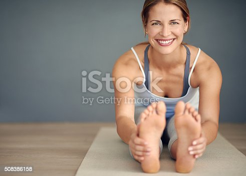 istock Smile, breathe and go slowly 508386158