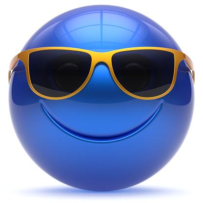 istock Smile face cheerful sphere emoticon head ball cartoon smiley 526560152