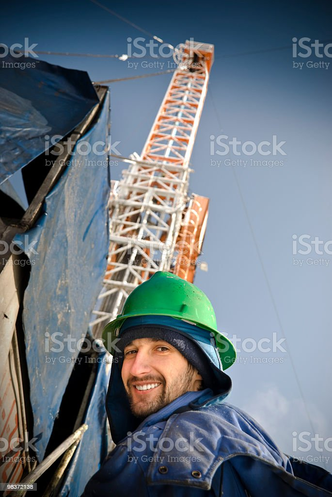 Smile mr Engineer royalty-free stock photo