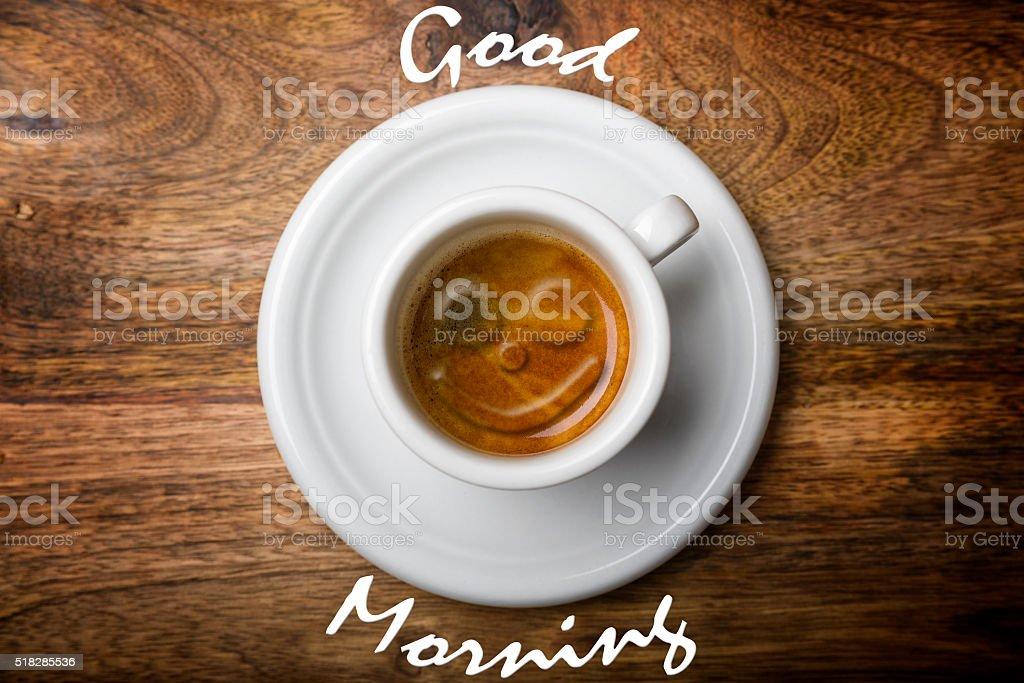 Sonrisa de café - foto de stock