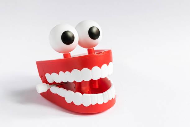 glimlach! - kunstgebit stockfoto's en -beelden