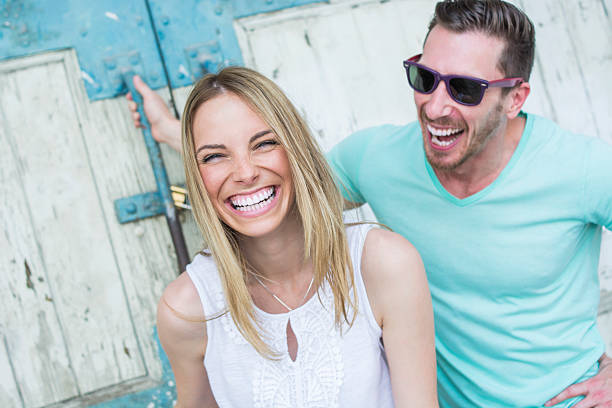 smile! - straight stock photos and pictures