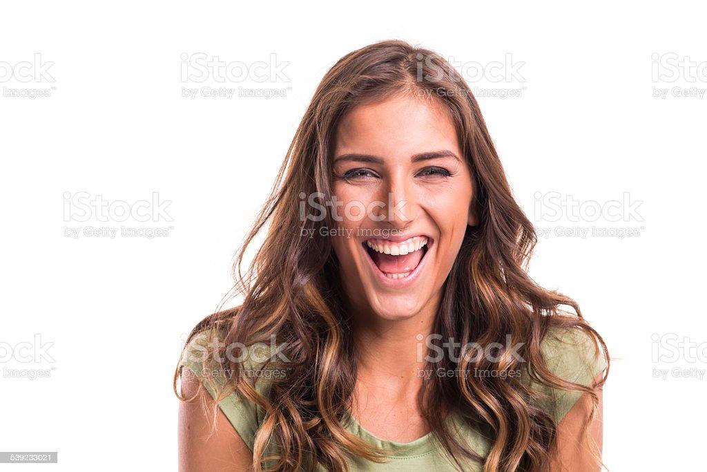 Sonrisa foto de stock libre de derechos