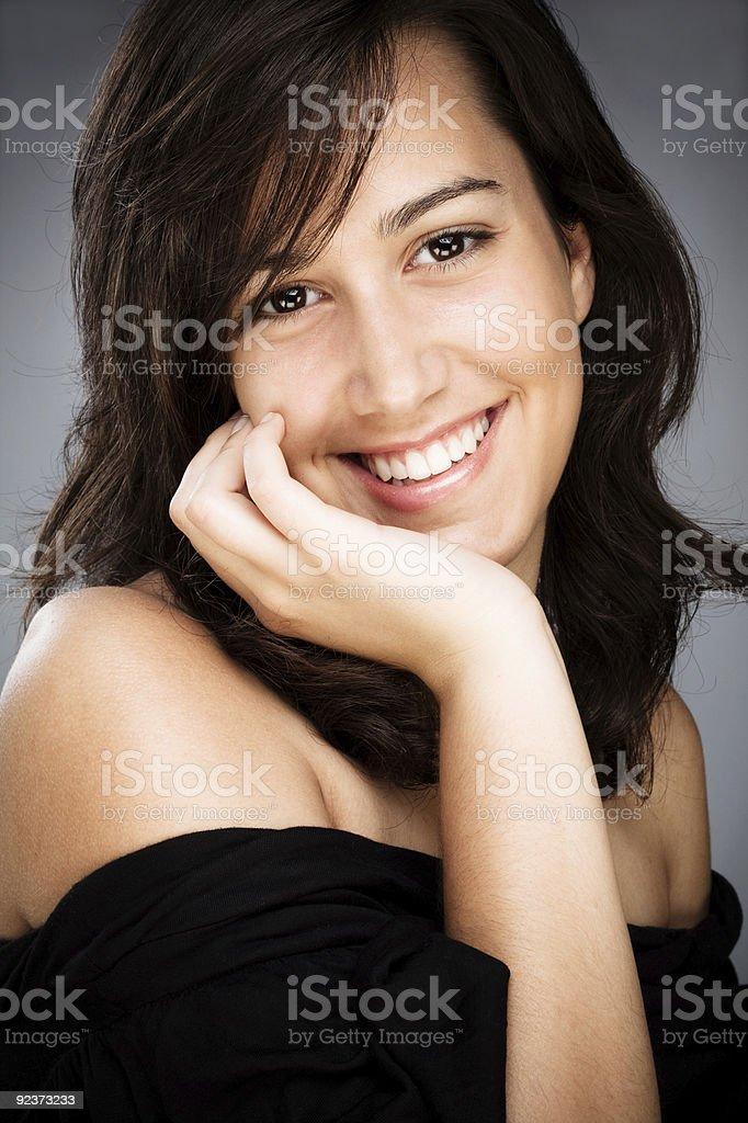 Lächeln Lizenzfreies stock-foto