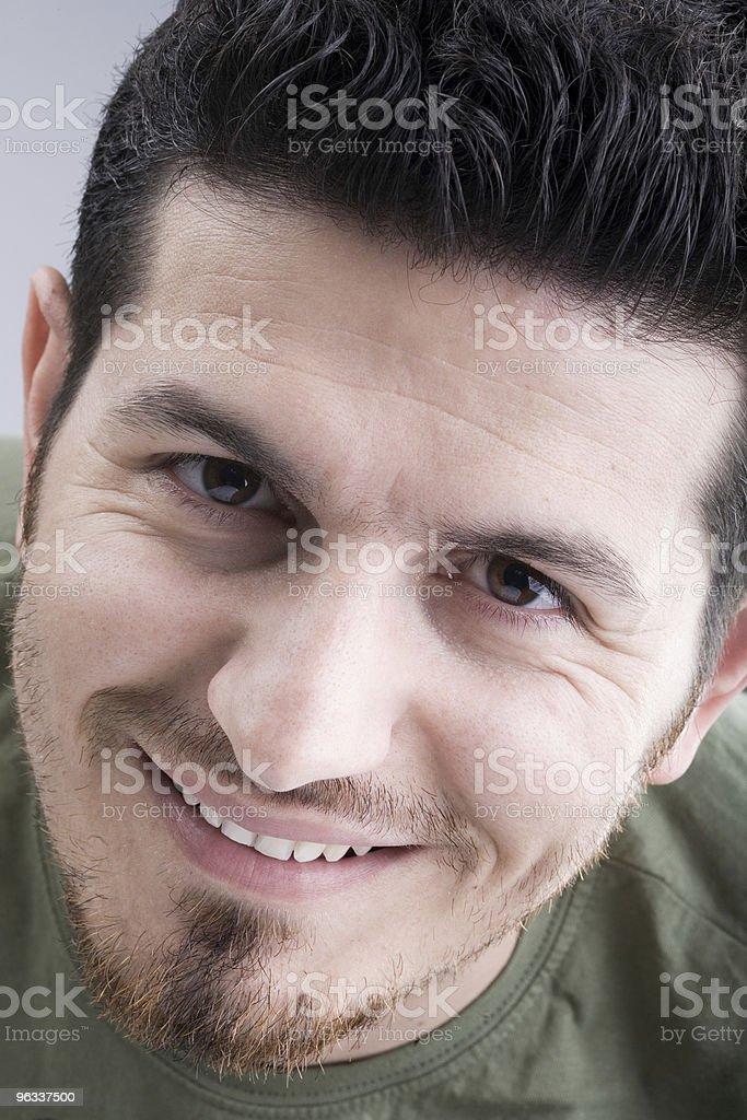 Smile - Royaltyfri Ansiktsuttryck Bildbanksbilder