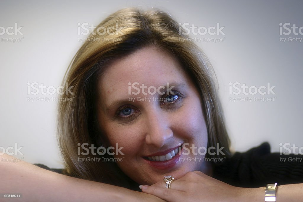 Smile soft portrait royalty-free stock photo