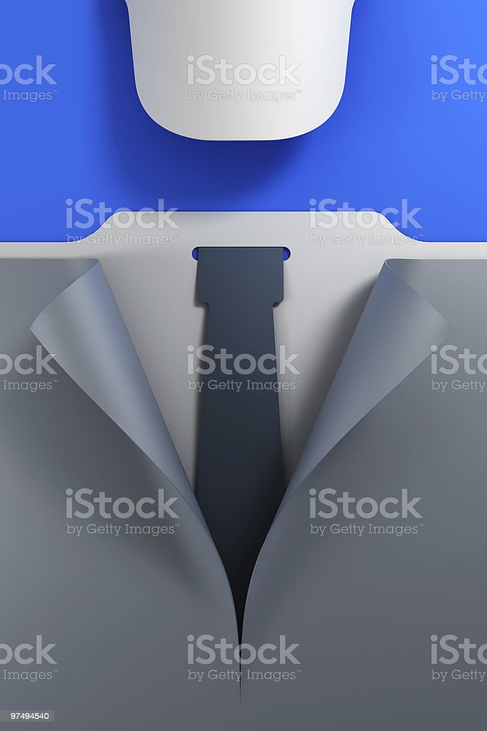 smile symbolic businessman royalty-free stock photo