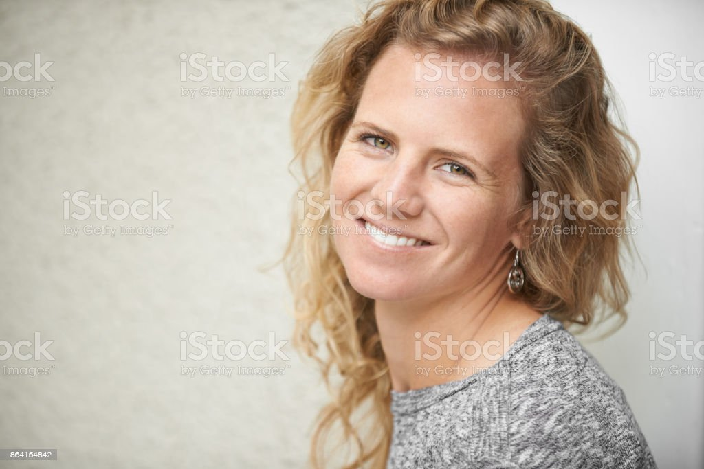 Smiles are free but worth so much royalty-free stock photo
