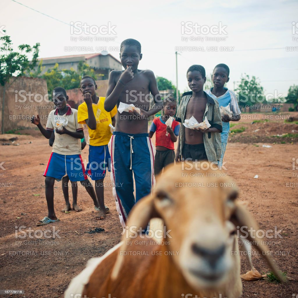 Smiley African Children royalty-free stock photo