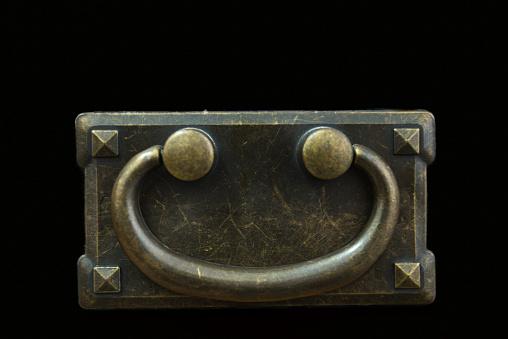 Smiley Brassed handle