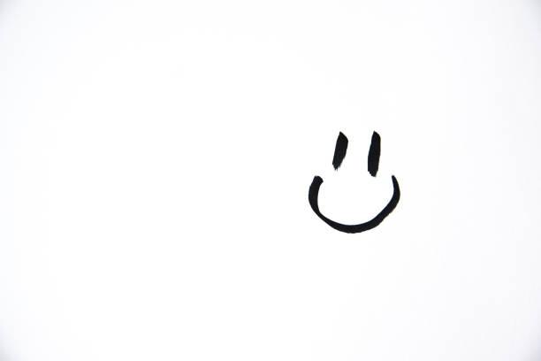 smiley - scarabocchio disegno foto e immagini stock