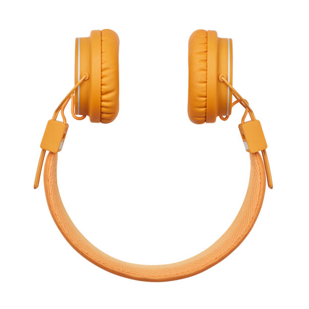 Smiley Shape Headphone Smiley Shape Headphone headphones stock pictures, royalty-free photos & images