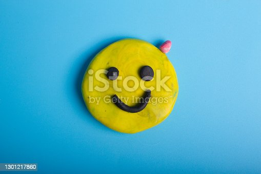 Smiley with acne on it's head