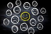 istock Smileys on Blackboard 679832466