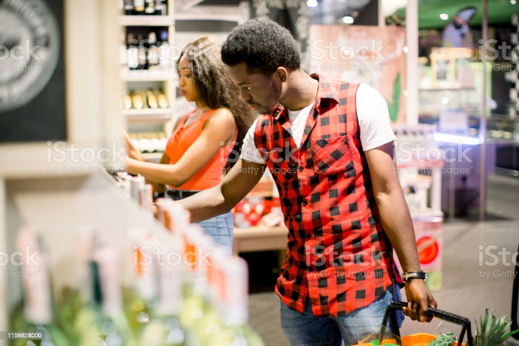Image result for love in a supermarket african