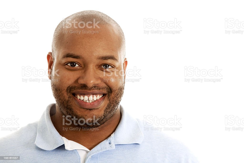 Smiling African American Man royalty-free stock photo