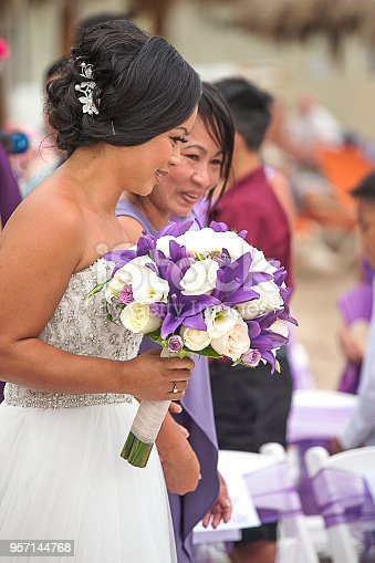 Mother and Daughter down the Aisle