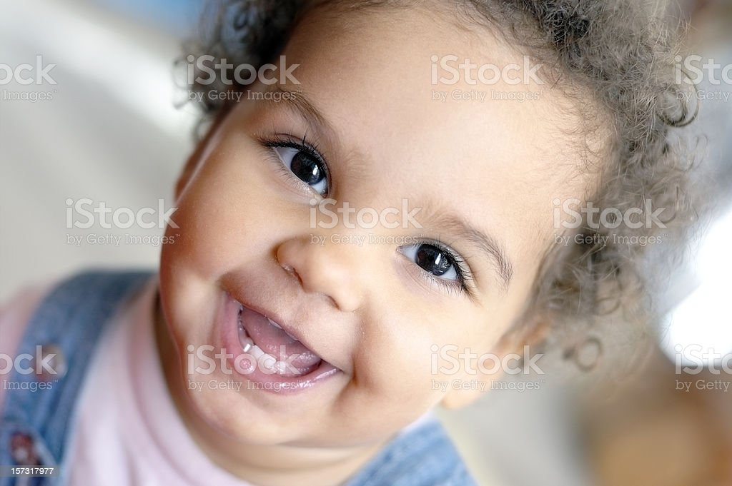 Smiling baby Child royalty-free stock photo