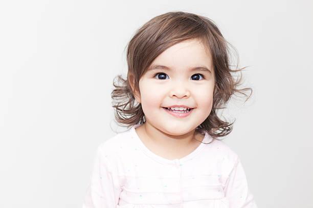 Smiling Baby Girl stock photo