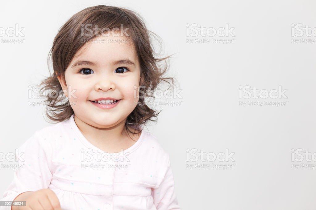 Lächelnden Babys – Mädchen – Foto
