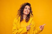 istock Smiling beautiful woman 1264158211