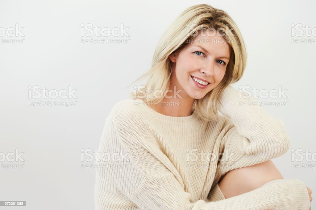 Smiling beauty stock photo