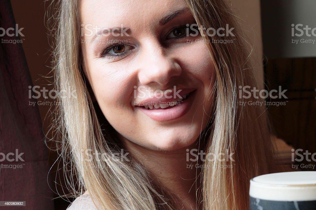 Blonde polish girl