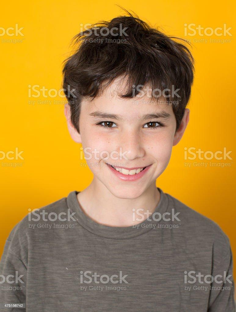 Smiling boy foto