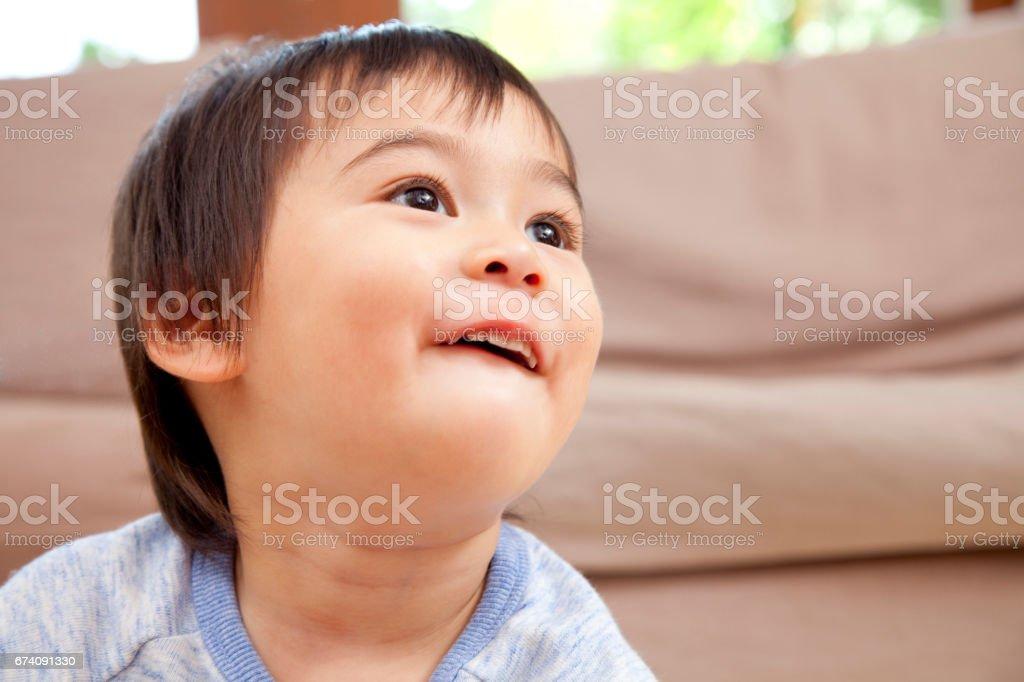 Smiling boy royalty-free stock photo