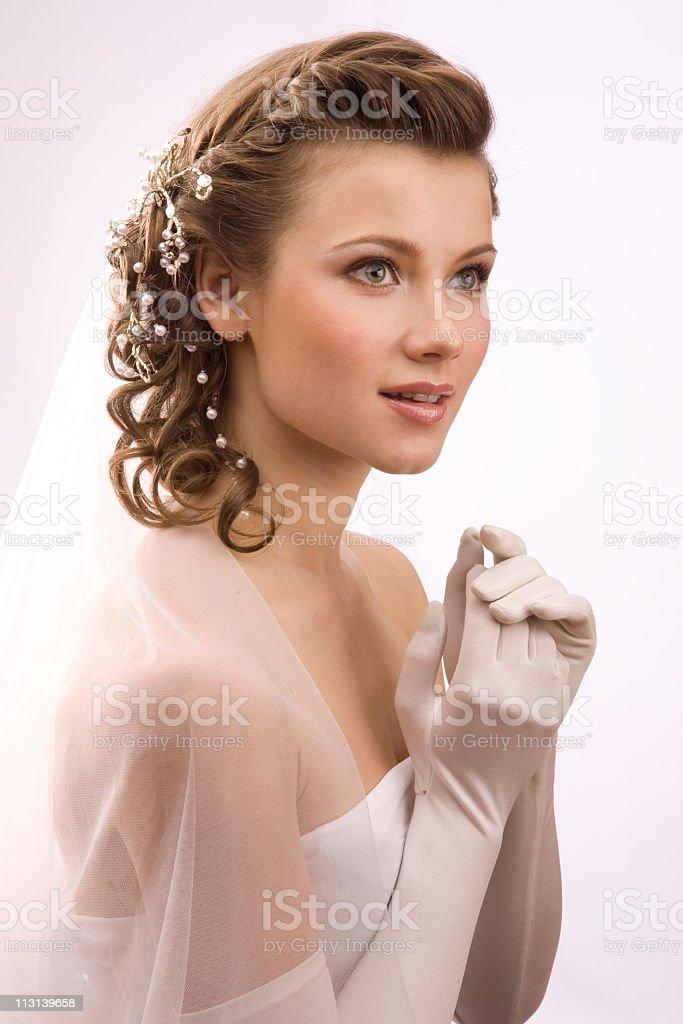 Lächelnd Braut. XL – Foto