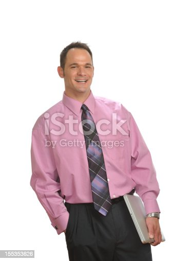 179607668istockphoto Smiling business executive 155353626