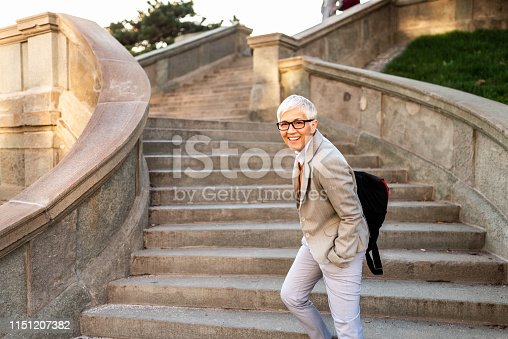 1044149594 istock photo Smiling business woman. 1151207382
