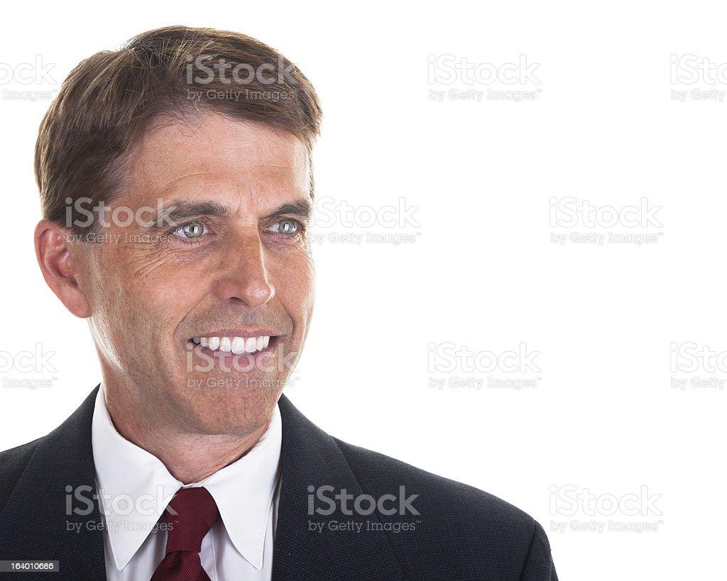 Smiling Businessman royalty-free stock photo