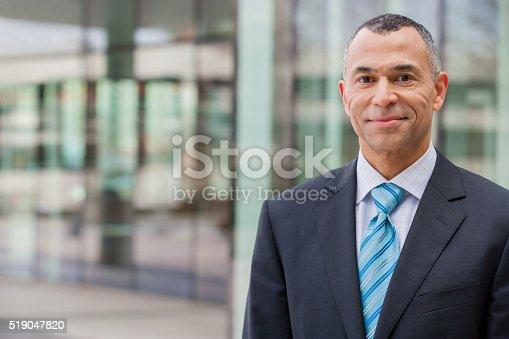 istock Smiling businessman 519047820