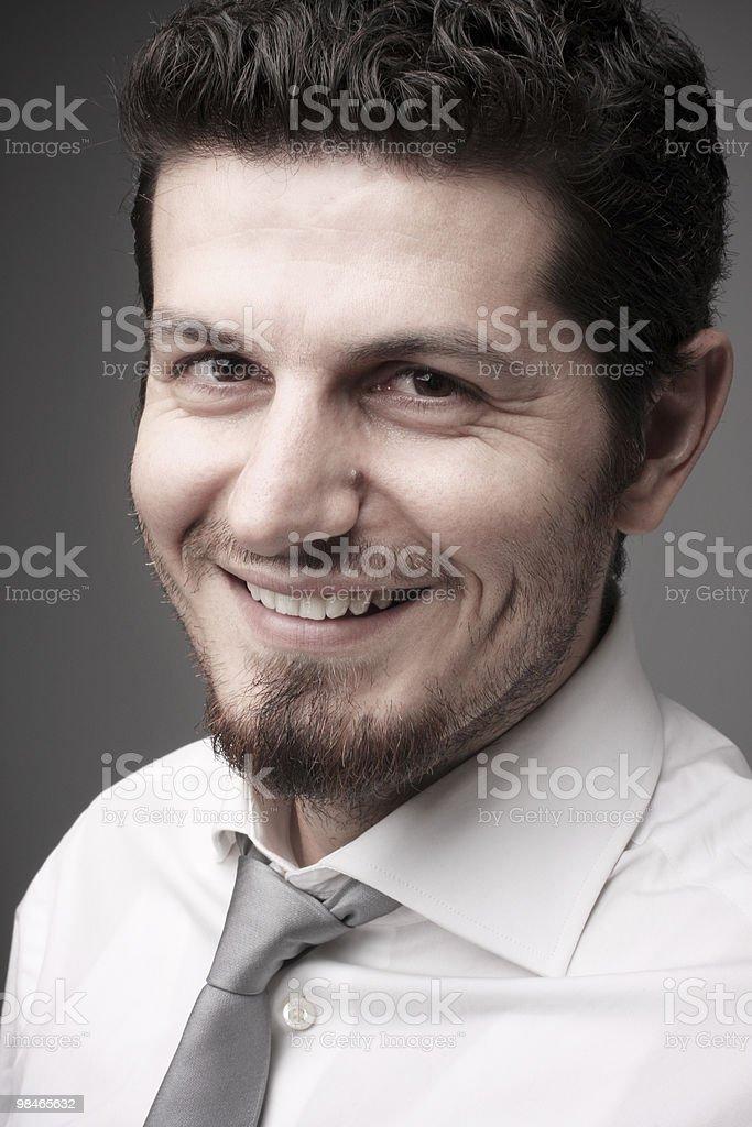 Smiling Businessman - Portrait royalty-free stock photo
