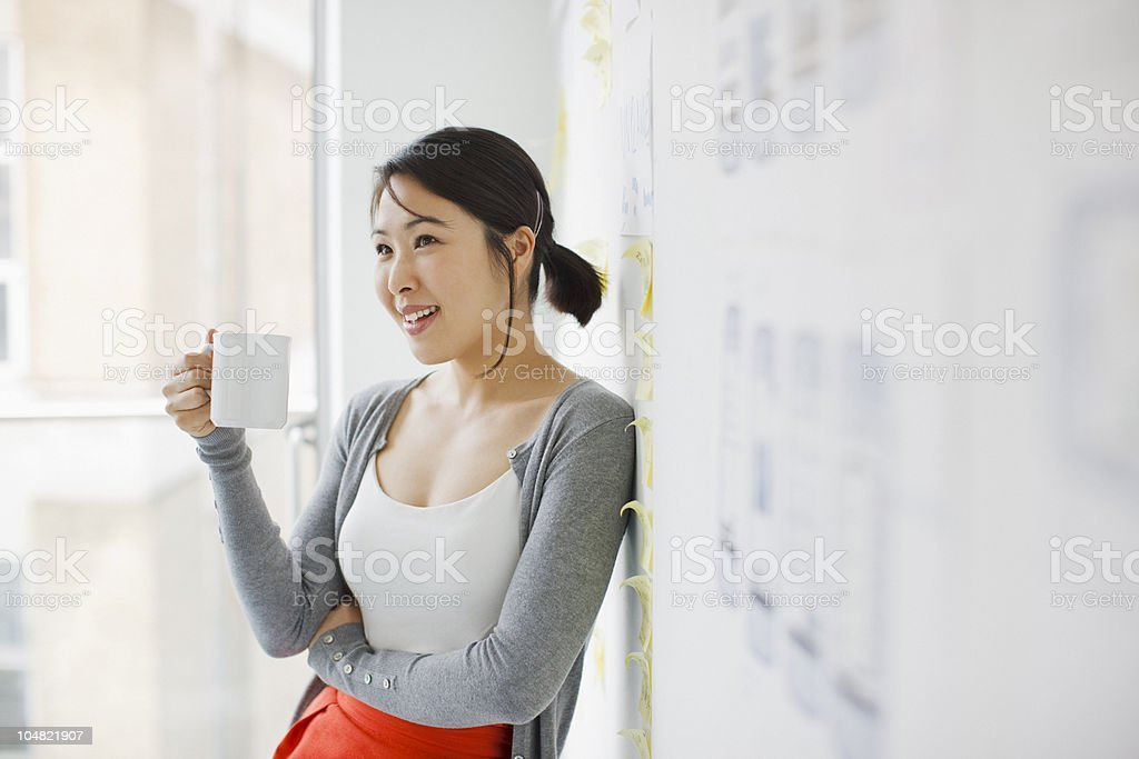 Woman In Only A Business Suit Jacket Stock Images - Image