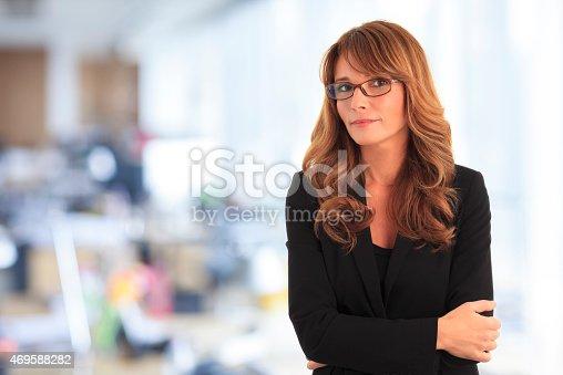 1150572074istockphoto Smiling businesswoman 469588282