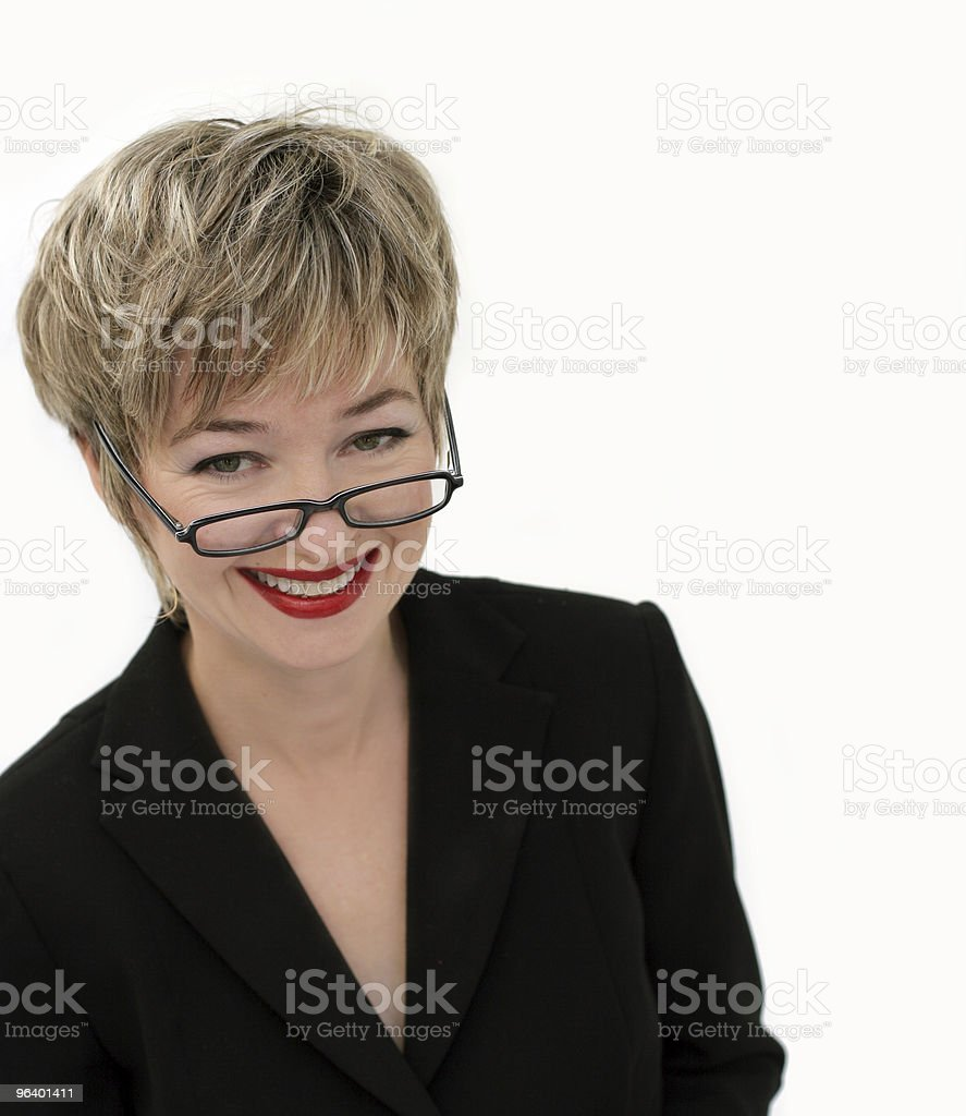 Smiling businesswoman - Royalty-free Adult Stock Photo