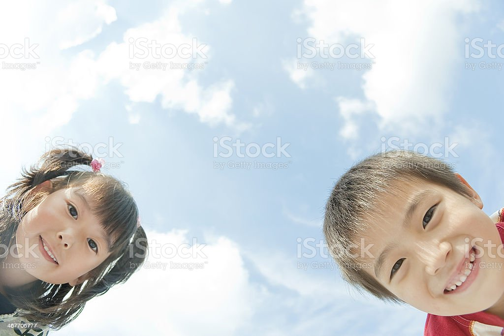 Lächelnd Kinder – Foto
