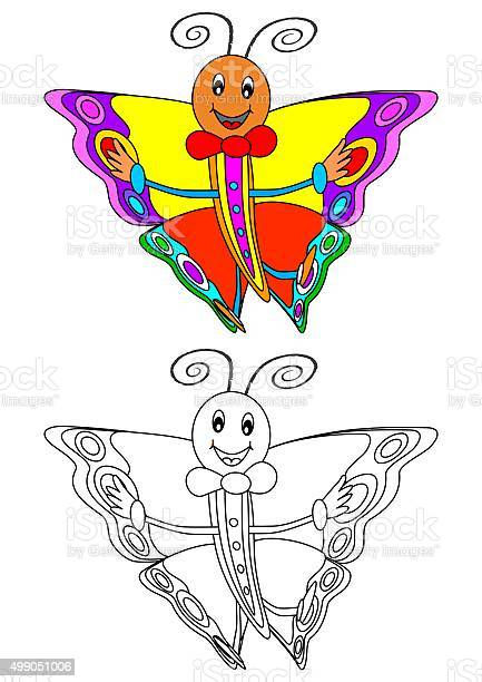 Smiling colorful butterfly as a coloring book for children picture id499051006?b=1&k=6&m=499051006&s=612x612&h=cvqeb9pha0csqmbopltgs8buzqmdtzxfta23ncsgviy=