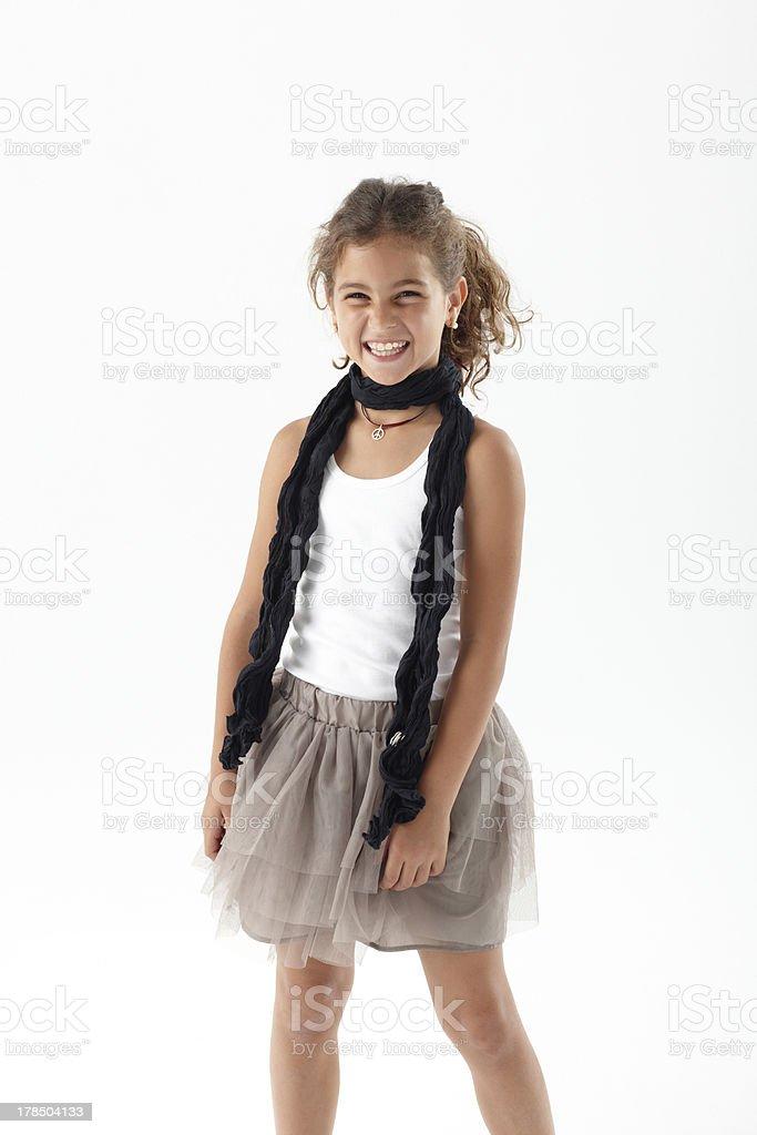 Lächeln Süßes Mädchen – Foto