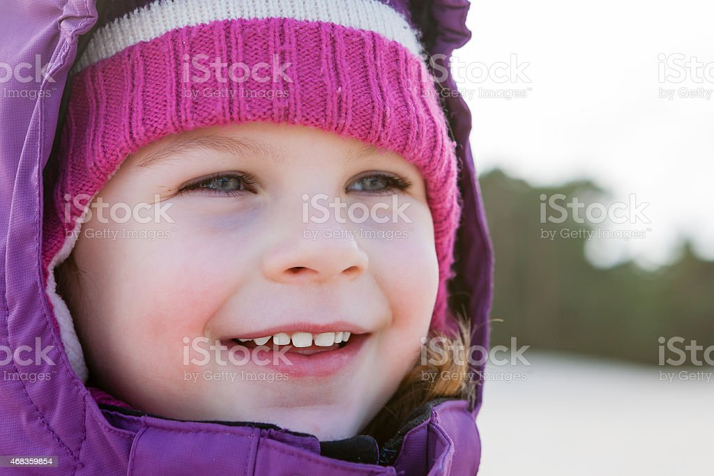 Smiling Cute Little Girl royalty-free stock photo