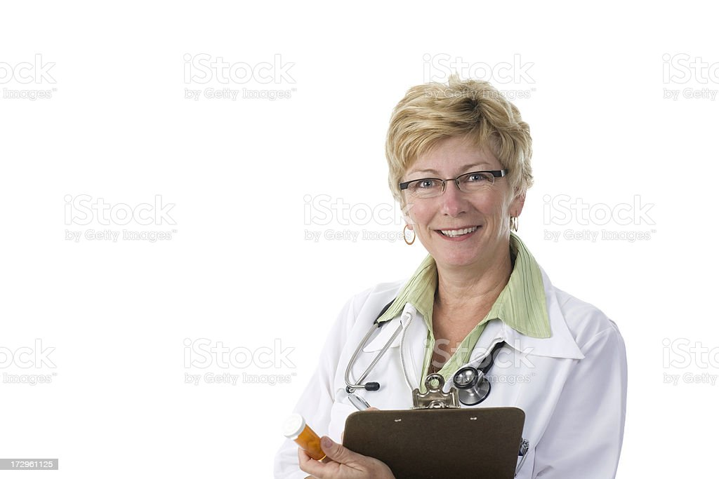 Smiling doctor royalty-free stock photo